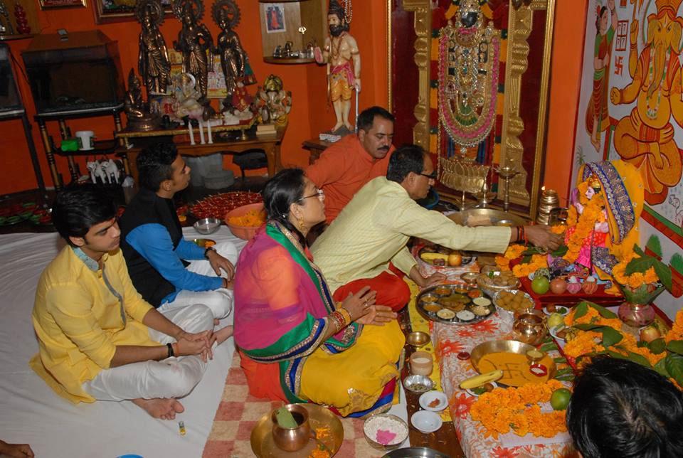 La pūjā y el bhakti yoga